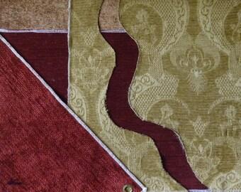Mixed media fabric art