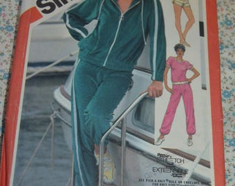 Simplicity 5931 Misses Pull on Pants Shorts Pullover Top and Unlined Jacket Sewing Pattern - UNCUT - Size 10 12 14