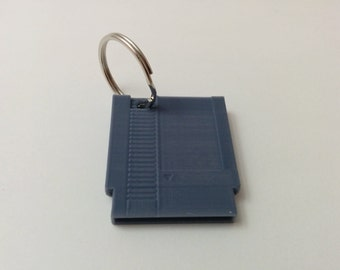 NES cartridge keychain