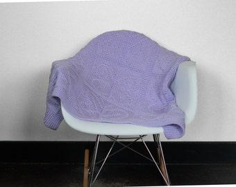 Knit Butterfly Baby Blanket