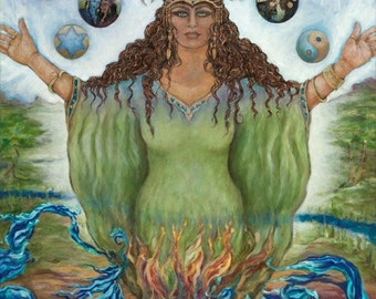 Asherah Comes Forth ~ Bringing Balance Into The World Through Divine Love