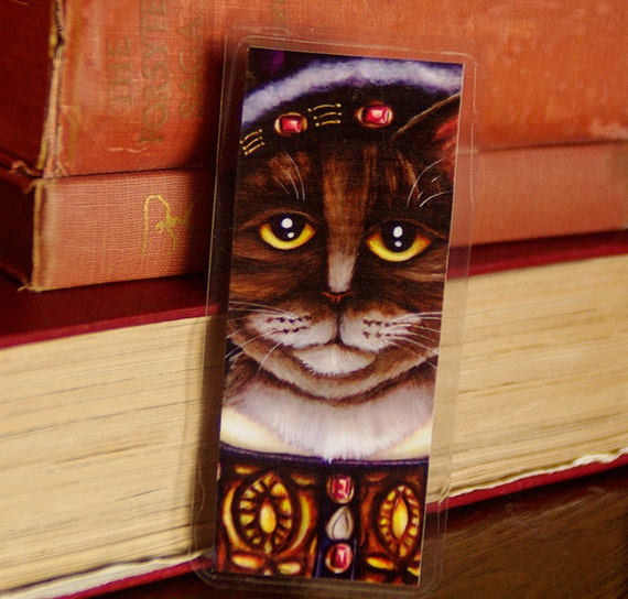 King Henry VIII Cat Bookmark