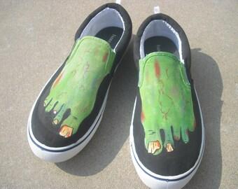 Custom Zombie Feet Shoes