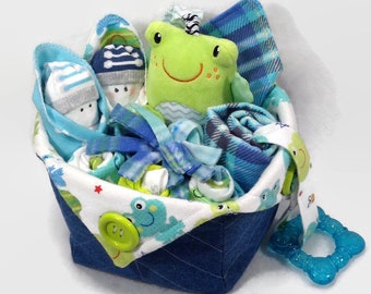 Baby baskets etsy preemie gift baby gift basket preemie clothes baby basket newborn baby negle Images