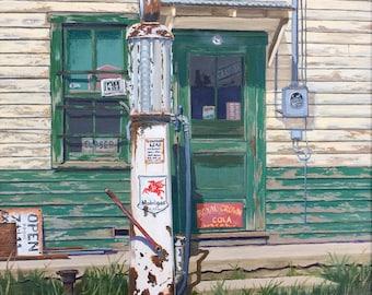 Old Filling Station