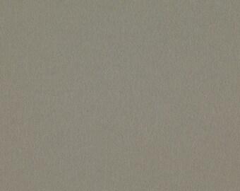 Grey - 100% Pure Wool Felt