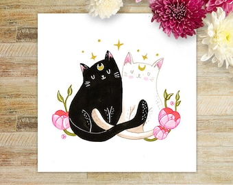 Sailor Cats art print