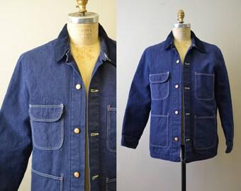 1970s Blue Bell/Wrangler Cotton Denim Chore Coat
