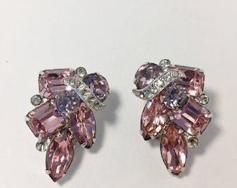 Eisenberg Pink Ice Earrings