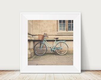 mint bicycle photograph cambridge photograph mint bicycle print cambridge print travel photography wanderlust art