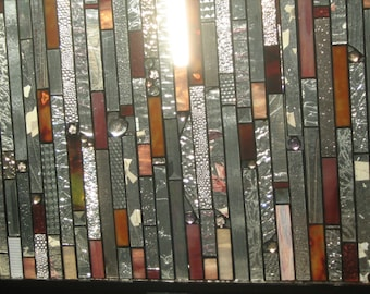 GLASS CURTAINS stained glass panel curtains     no more peeping toms HOUSEWARES