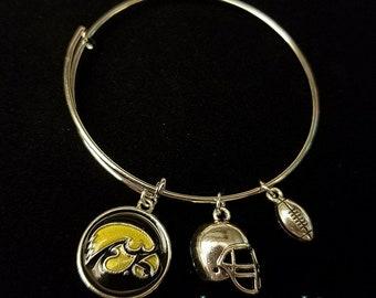 University of Iowa Bangle Bracelet