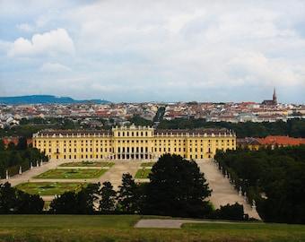 Vienna, Austria - Fine Art Photograph - Schonbrunn Palace