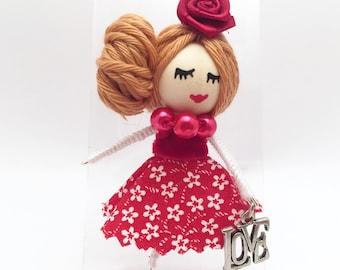 Original LOVE Doll Brooch