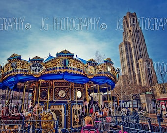 Carousel at Pitt (Cathedral of Learning, Pittsburgh, University of Pittsburgh)