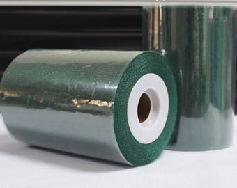 Tulle roll high quality Hunter Green sparkling 15 cm x 82 m for tutu and decoration.