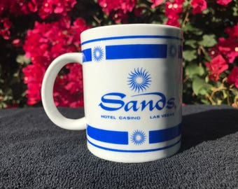 Vintage Sands Casino Coffee Cup MUG Free Ship