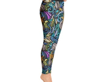 Marine Yoga Leggings