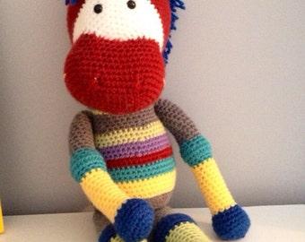 PATTERN Charlie the Horse - Stuffed Animal Crochet Pattern