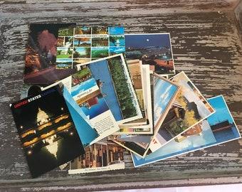 Grand Lot cartes postales différentes années et les villes
