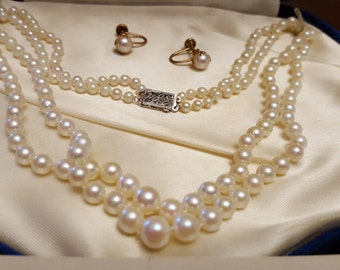 Vintage Cultured Sea Pearls
