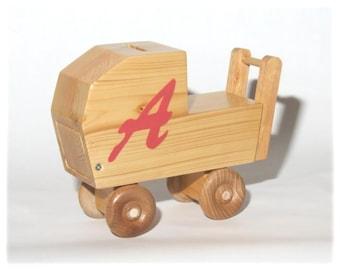 Savings Bank Doll Carriage