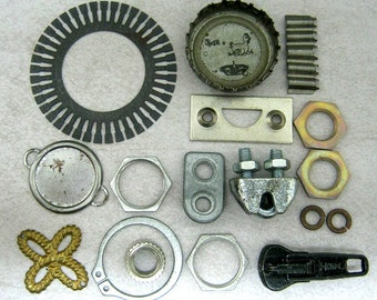 17 Industrial Steampunk Findings