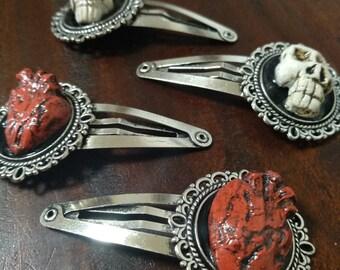 Voodoo Queen Hairclip smalls (PAIR)
