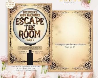 Escape room | Etsy