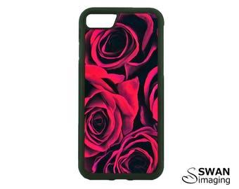 Red Roses Phone Case ~ TPU Case ~ iPhone 8, 8 Plus, 5/5S, SE, 6/6S, 6/6S Plus, iPhone 7, 7 Plus ~ Samsung S5, S6, S7, S7 Edge, S8, S8 Plus