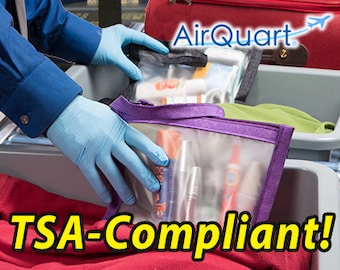 AirQuart  TSA compliant travel bag