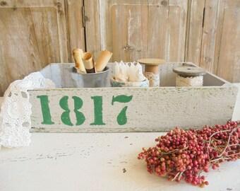 Shabby Chic wooden box box vintage