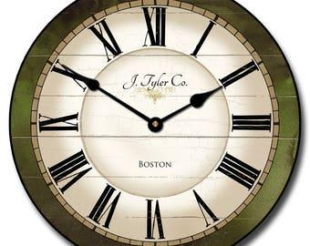 Carolina Green Wall Clock