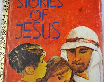 Vintage Children's Book Stories of Jesus Little Golden Book