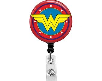 Wonder Woman - Badge Reel Retractable ID Badge Holder