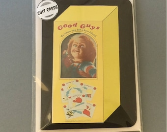 """Child's Play """"Chucky"""" Greeting Card"""
