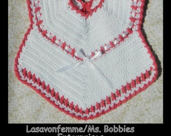 Crochet Baby Bib - PDF Pattern 81913 - Instant Download