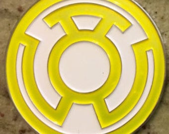 FEAR Yellow Lantern Corps Challenge Coin