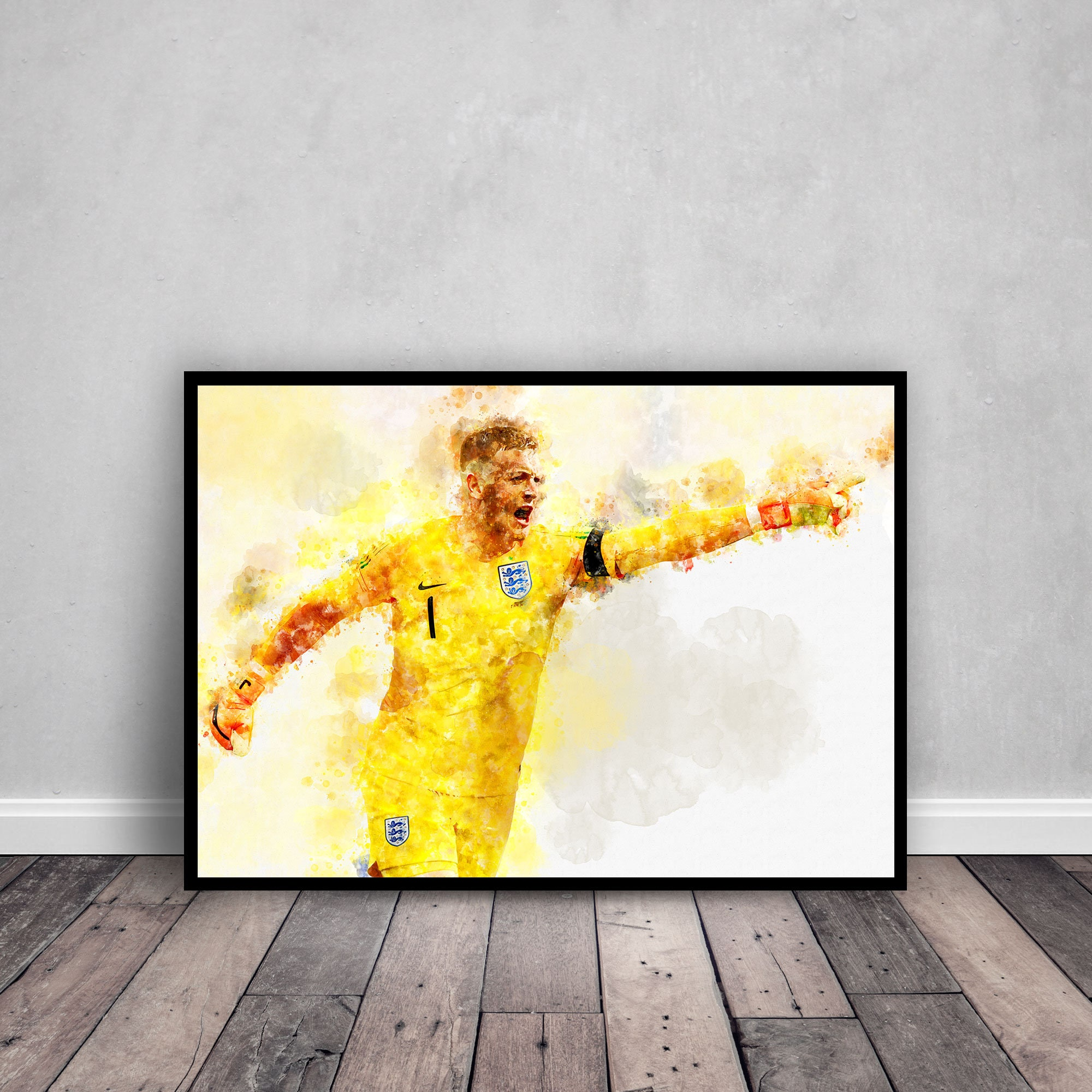 Jordan Pickford Poster, 2018 FIFA World Cup, England Football Team ...