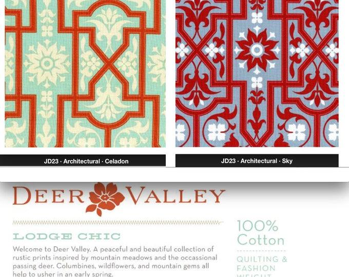 Joel Dewberry - Deer Valley - Architectural JD23 - 1 yard, choose a color-way