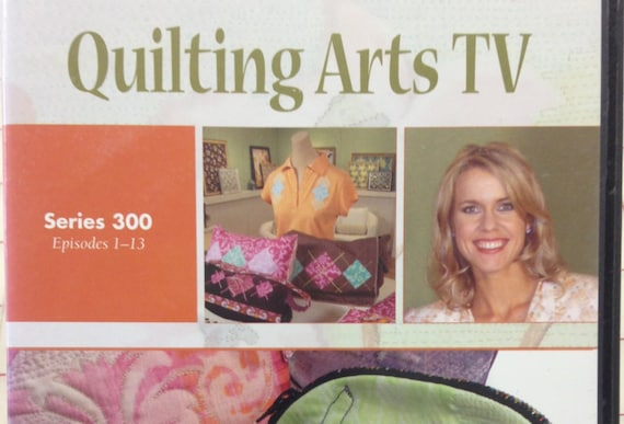 Quilting Arts Tv Series 300 Episodes 1 13 4 Dvd Set By