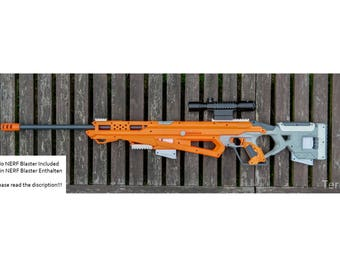 Nerf Accustrike Raptorstrike Sniper Extensions / Modifications