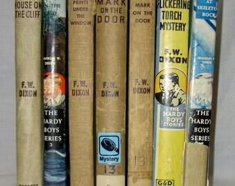 Vintage Hardy Boys Children's Books