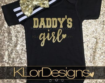 Daddy's Girl, first Father's Day, Father's day gift, Father's day bodysuit, baby girl, newborn girl outfit