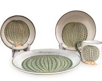 Biznaga Handmade Dinnerware Set (16 pieces)