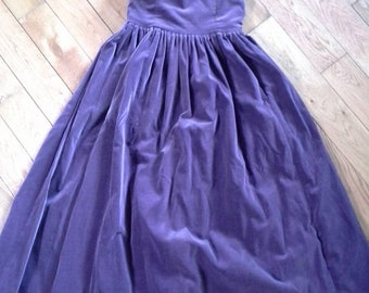 Vintage Laura Ashley Dress Size Small
