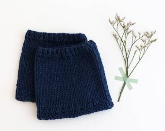 NAVY Baby leg warmers