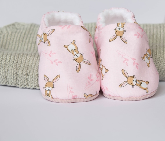 Easter bunnies baby girl shoes