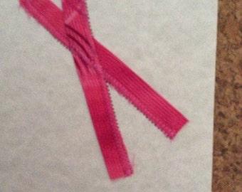 Tammy Pink Ribbon Cards