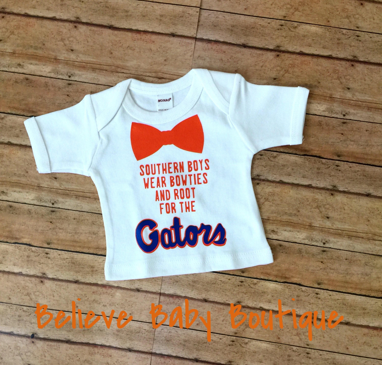Gators baby boy uf baby boy outfit orange and blue baby boy